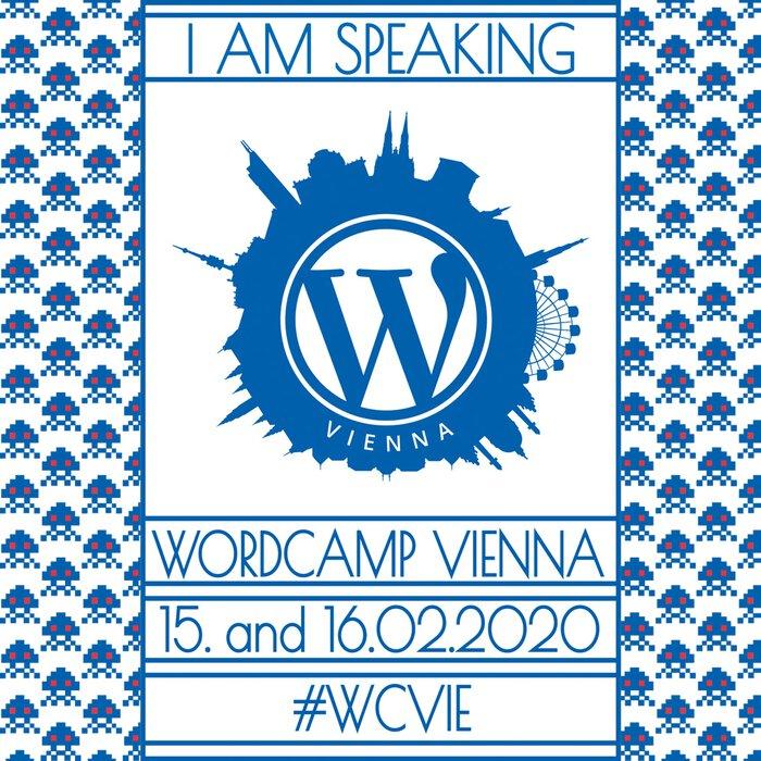 WordCamp Vienna 2020 - 15 & 16.02.2020